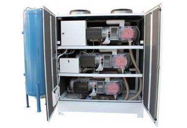 3 Pump System Sound Proof Enclosure